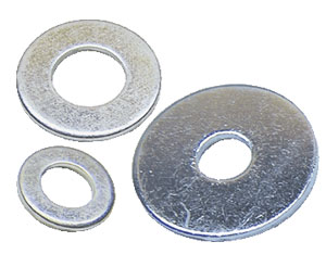 Flat and Plain Washers, Cup Washers